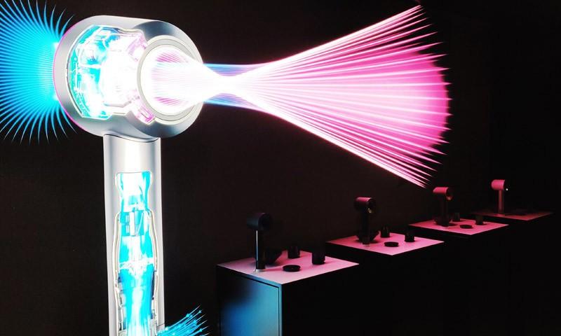 戴森新一代Supersonic吹风机发布,搭配全新风嘴温和干发