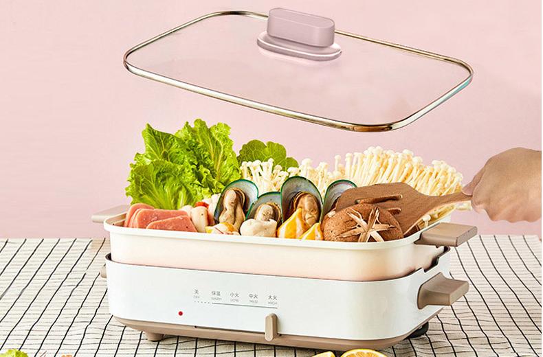 一台多功能料理锅,让你从成功晋级为大厨