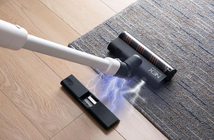 创意酷品:带拖把的吸尘器,清洁一步到位