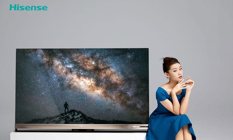 科技早闻:海信发布叠屏电视U9,麒麟810实体芯片亮相