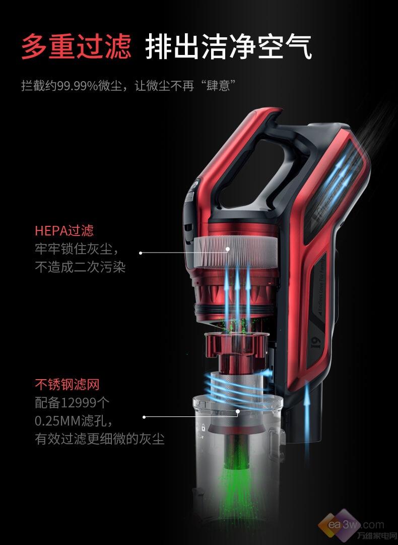 家用吸尘器哪种好?王牌吸尘器I9强烈推荐