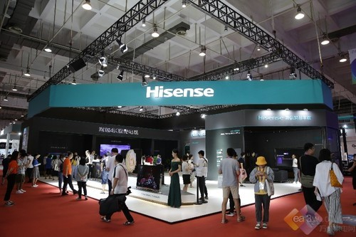 给HiFi发烧友的新武器  海信行业首款8通道电视亮相SINOCES