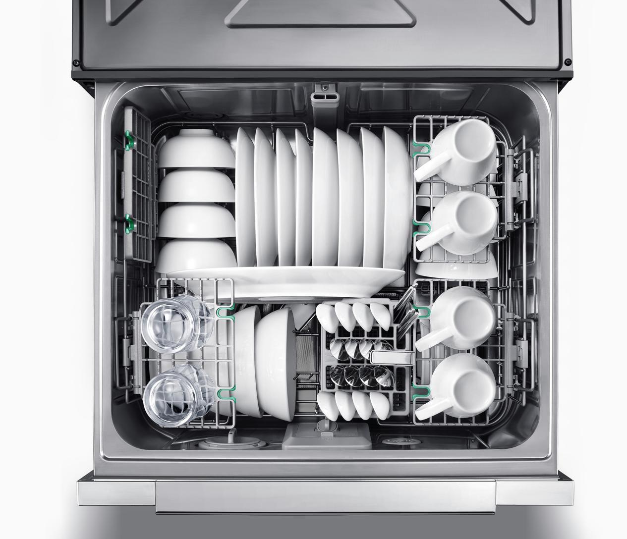 AI科技演绎智尚生活,做有温度的华帝干态洗碗机JWD8-V7