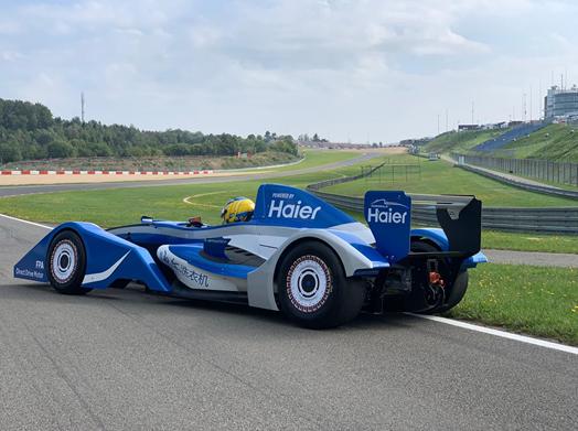 海尔直驱方程式挑战德国纽博格林赛道成功