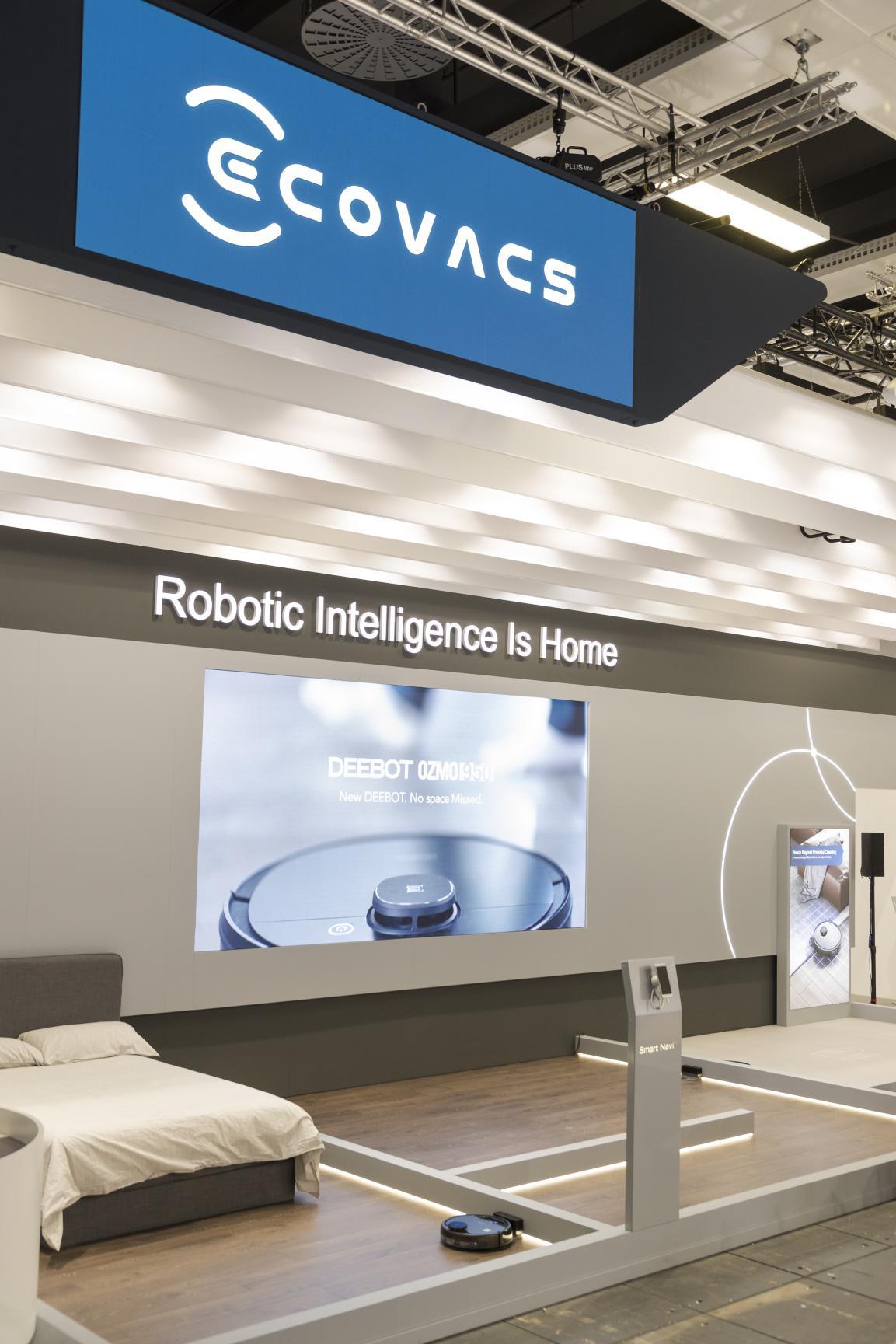 科沃斯机器人全新品牌VI于IFA首发,即日全球同步亮相