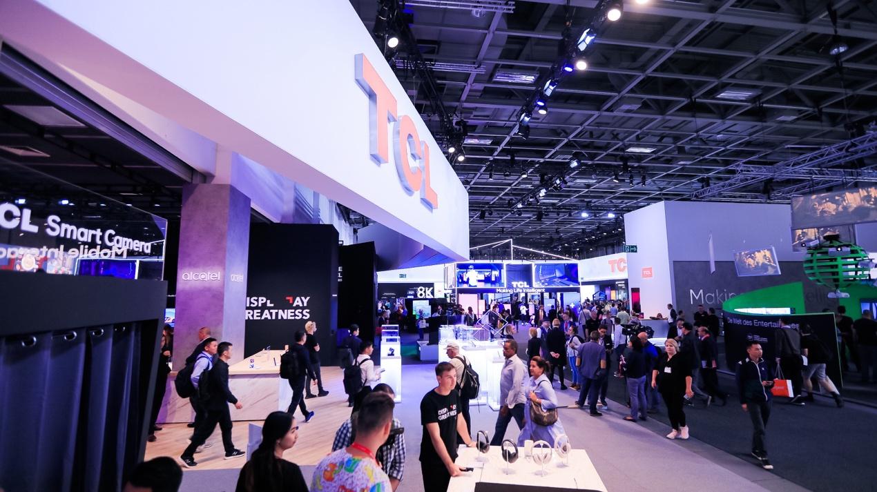 AI×IoT登临欧洲 TCL全场景AI亮相IFA展