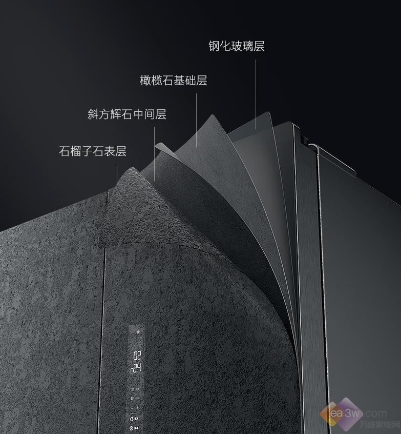 美的COLMO熔幔岩系列冰箱发布,开创艺术品家居美学