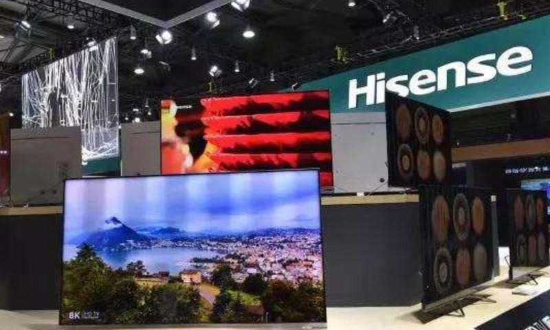 传海信将在柏林IFA 2019推85吋8K双屏电视