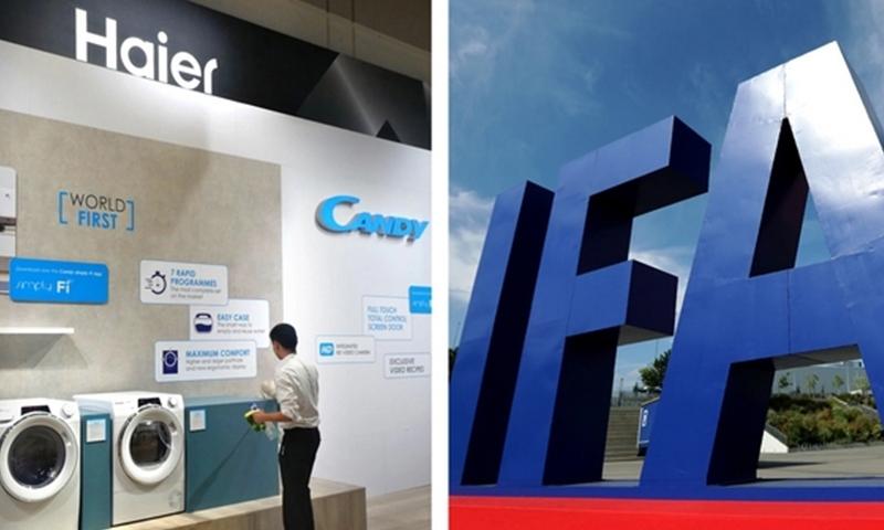 中国家电制造商在IFA上展示雄心:海尔等扩张欧洲市场