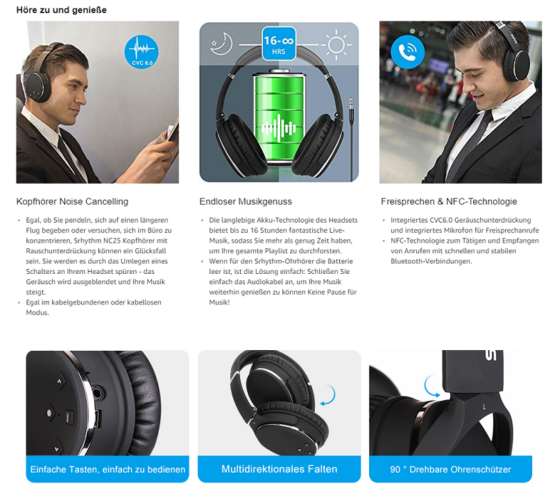 UONI由利srhythm系列蓝牙耳机筑造绝妙听觉体验,在德法亚马逊销量夺冠
