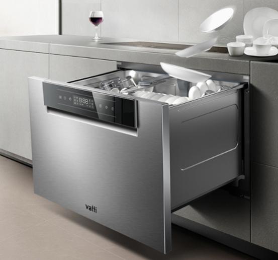 什么样的洗碗机最受欢迎?决定用华帝干态洗碗机替代消毒柜