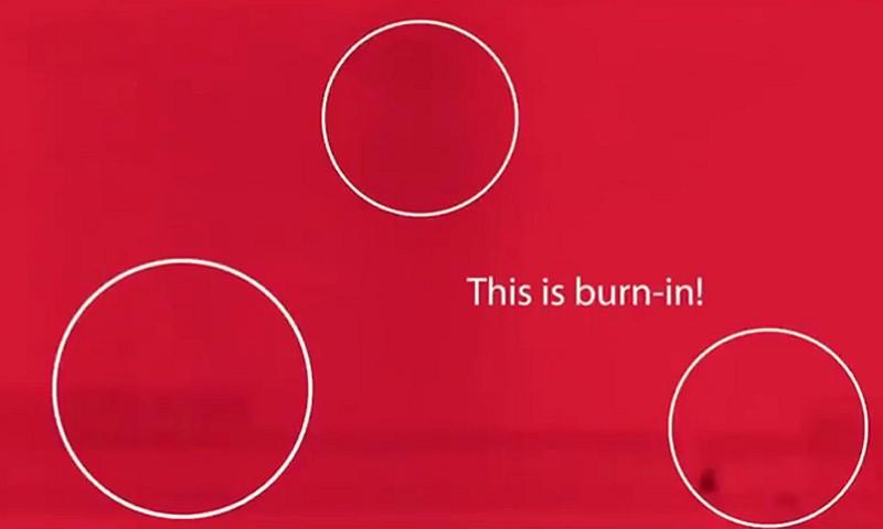 怕OLED电视出现烧屏?三星发布测试视频助用户检测