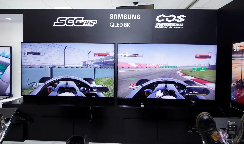 百台超跑上演速度与激情,三星QLED 8K电视置身所见