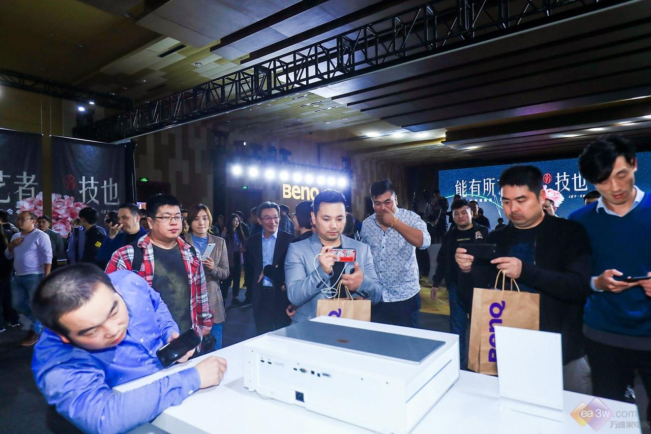 明基刘茂瑞:低价4K激光电视有4大猫腻,有体验才有对比