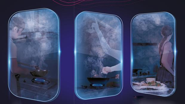新一代零动净烟科技助力,看万家乐M7CI如何为你打造无烟厨房