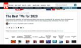 PCMag公布2020最值得购买电视榜单:海信居首