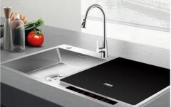 告别手洗刷碗时代,万家乐水槽洗碗机让手洗成为往事!