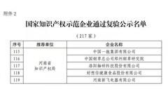 """新飞荣膺""""国家知识产权示范企业"""""""