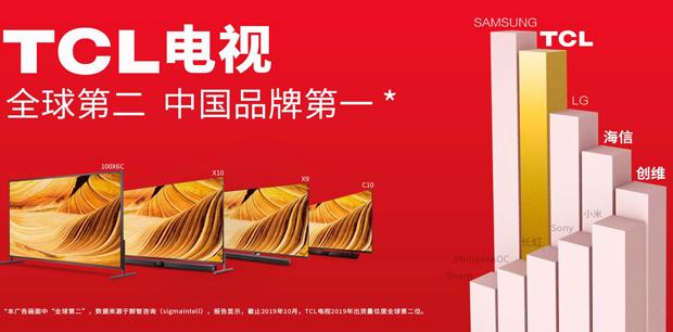 销量与口碑齐飞,中国品牌第一,TCL做到了!