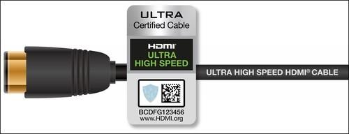 全新超高速 HDMI线缆认证计划全面支持HDMI 2.1