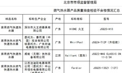 燃气热水器产品质量抽检报告出炉,哪些产品上榜?