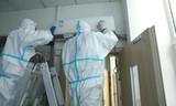 空气换新+杀毒,山大齐鲁医院换上海信新风空调