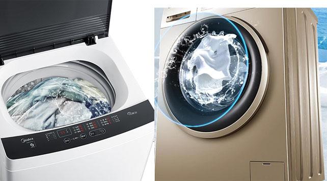 波轮与滚筒洗衣机区别在哪里?家庭使用买哪个合适?
