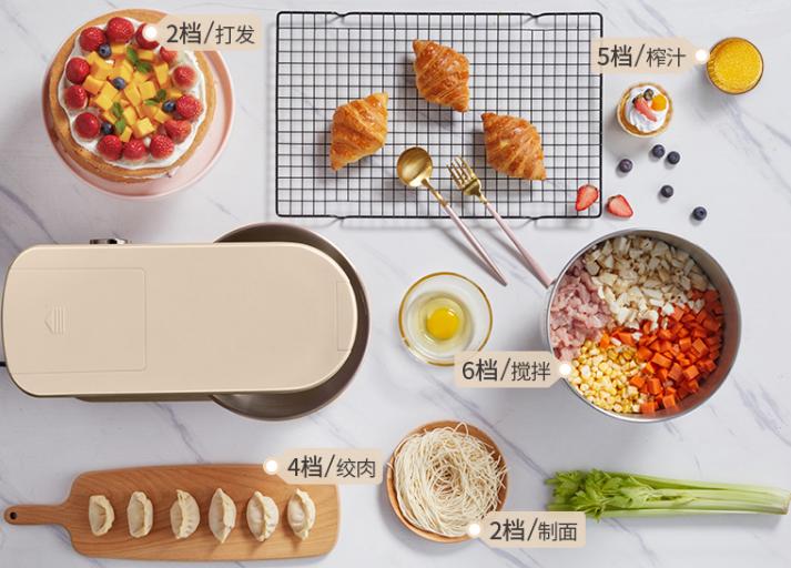 厨师机刷新了你对烘焙工具的认识,轻松解决烘焙中的各种复杂操作