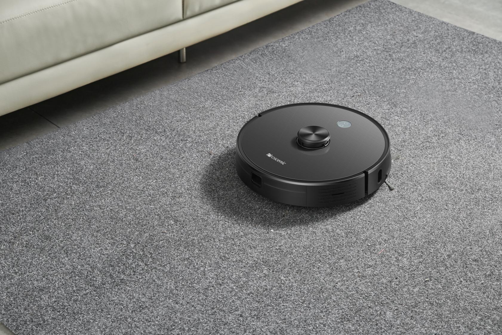 Y字型湿拖扫地机,浦桑尼克再次引领扫地机器人市场