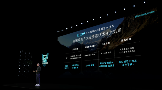 """云米首发ROX1600G,""""澎湃海量""""定义下一代净水器"""