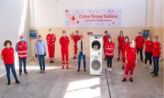 疫情尚未结束,海尔为意大利红十字会再捐洗衣机