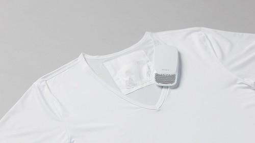 创意酷品:有了这个可随身穿戴的空调,夏天再也不用担心汗流浃背了