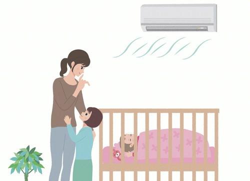 还有人信宝宝不能吹空调?注意这四点宝宝清凉度夏~