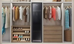 创意酷品:洗衣消毒熨烫都能做,这款洁衣柜除了价格贵点没啥缺点