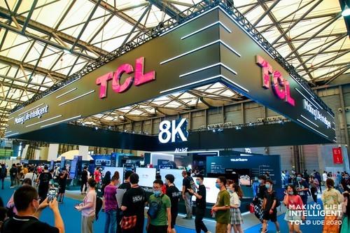 "AIxIoT引领家电从""使用""到""智慧""!TCL携多款智能产品亮相UDE 2020"
