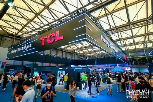 "TCL UDE""秀肌肉"",8K大屏电视跨界""包场""玩转Chinajoy"