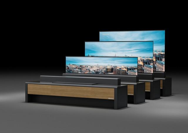 海信:2021推出8K激光电视并量产卷曲屏幕激光电视