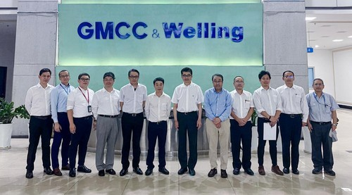 同力协契,奋楫笃行 松下电器率团到访GMCC&Welling
