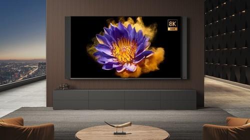 首搭Mini LED 支持8K+5G 小米电视大师82�贾磷鸺湍畎娣⒉际�49999元