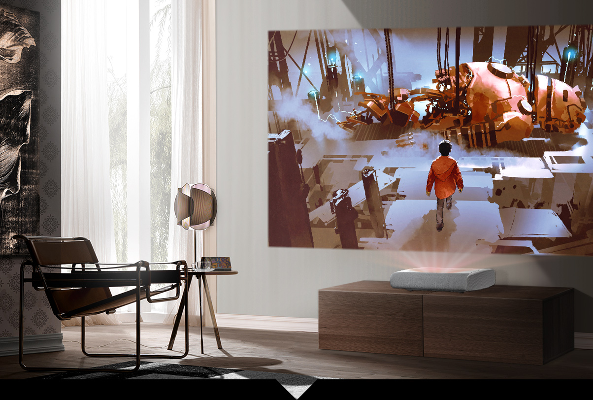 三星绚幕系列激光投影仪在中国震撼上市