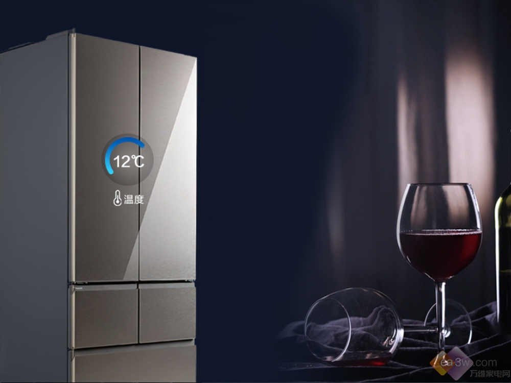 松下新品嵌入式冰箱搭载纳诺怡™黑科技,鲜享精致生活