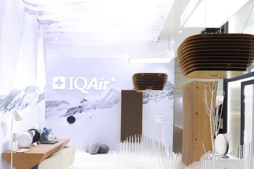 效能高、省空间、更环保,IQAir新品CleanZone Sky亮相设计上海