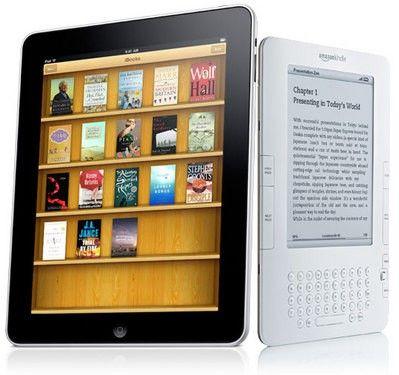 你到底选哪款?iPad对决Kindle