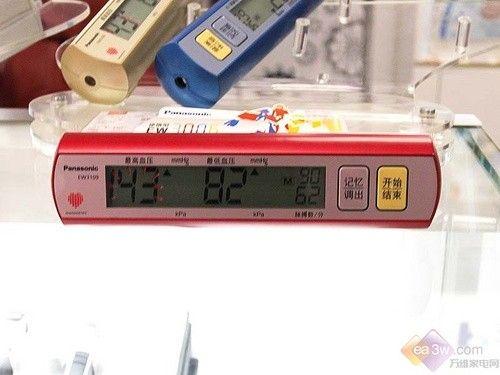 健康卫士贴心保护 松下血压计EW3190