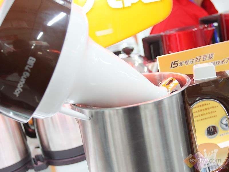 奢华显品质 九阳豆浆机jydz-202评测