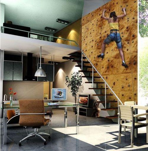 40平loft经典装修案例图(图片来源于网络)