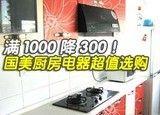 满1000降300!国美厨房电器超值选购