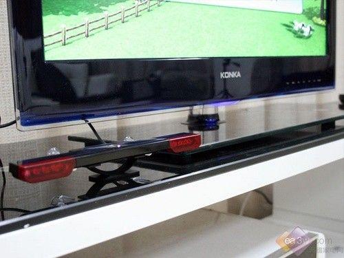 康佳網銳電視與體感游戲機相連接