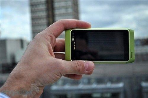 1200万像素 诺基亚N8绿色版高清多图赏