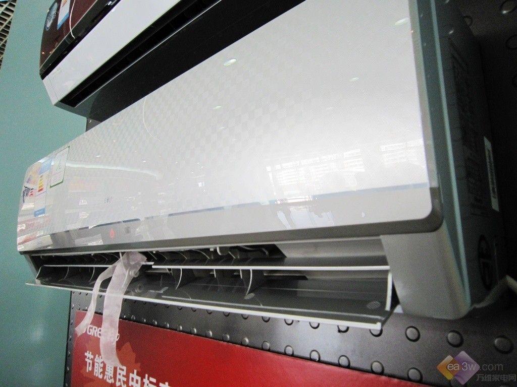 格力冷静王清洗怎么打开面板图片_多种面板风格 格力冷静王空调首次亮相—万维家电网